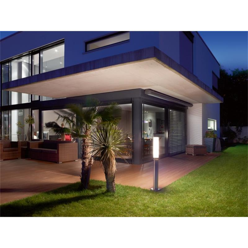 steinel gl 60 led sensor gartenleuchte mit 360 infrarot bewegungsmelder ebay. Black Bedroom Furniture Sets. Home Design Ideas