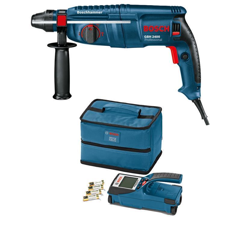 bosch leitungssucher wallscanner d tect 150 bohrhammer gbh 2400 ebay. Black Bedroom Furniture Sets. Home Design Ideas