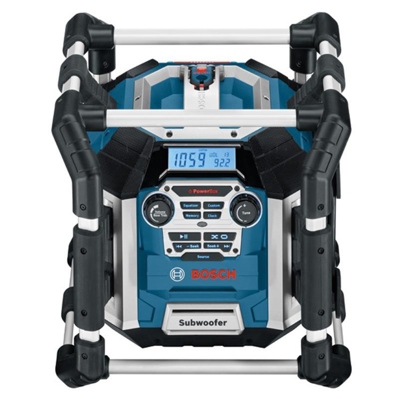bosch radio charger power construction site gml 50 for 14. Black Bedroom Furniture Sets. Home Design Ideas