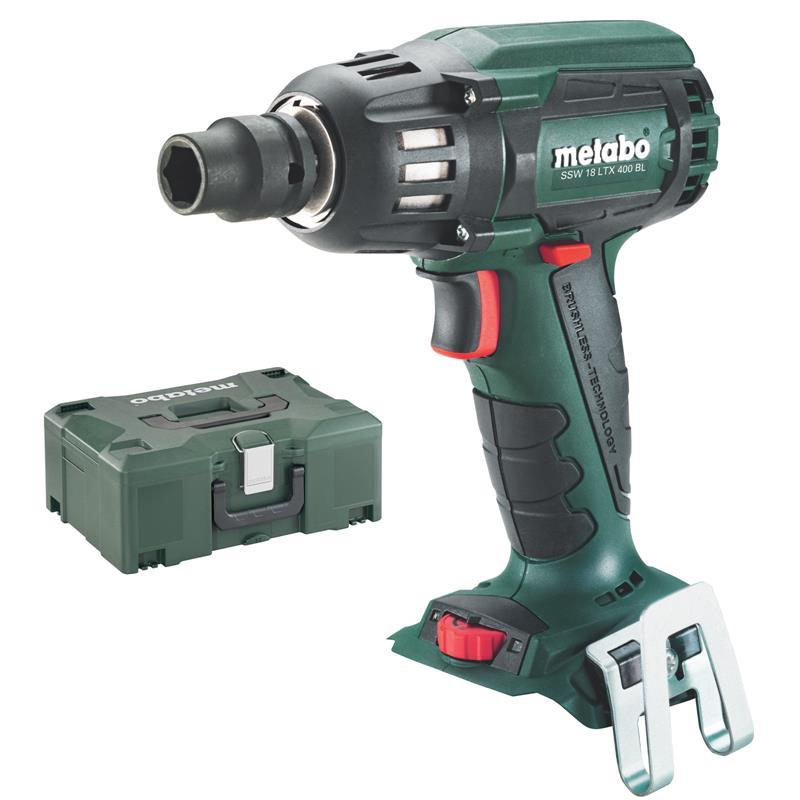 metabo 18 volt akku schlagschrauber ssw 18 ltx 400 bl ebay. Black Bedroom Furniture Sets. Home Design Ideas