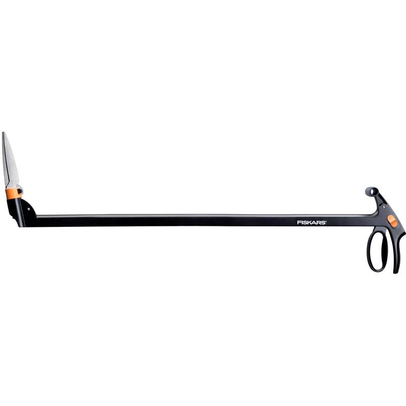 fiskars rasenkantenschere servo system mit stiel gs46 113690 ebay. Black Bedroom Furniture Sets. Home Design Ideas