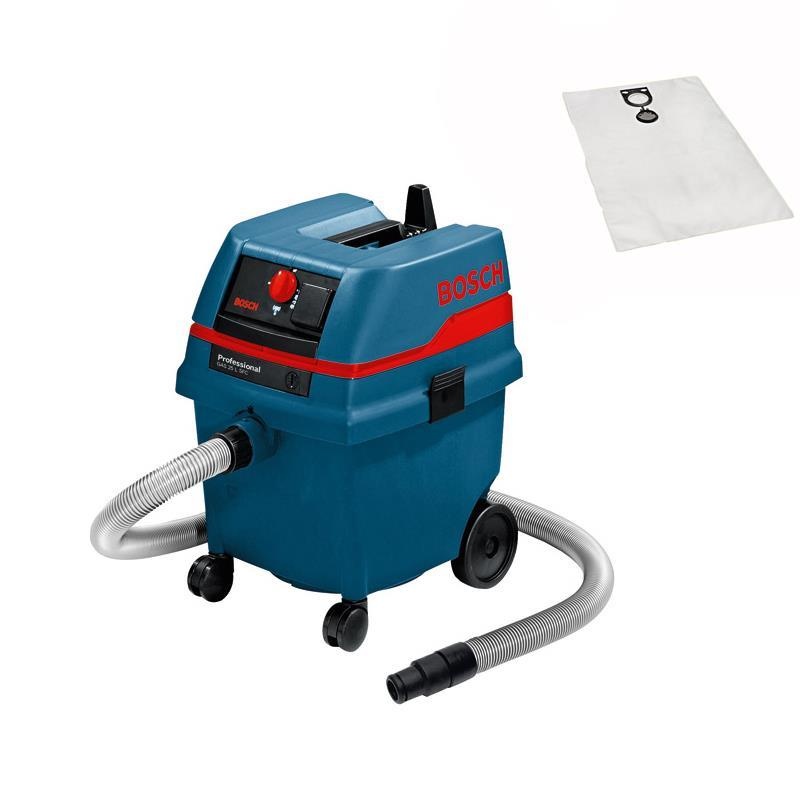bosch gas 25 l vacuum cleaners sfc incl fleece bag 10 ebay. Black Bedroom Furniture Sets. Home Design Ideas