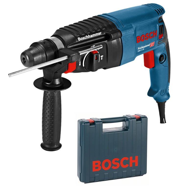 bosch bohrhammer gbh 2 26 professional sds plus im koffer ebay. Black Bedroom Furniture Sets. Home Design Ideas