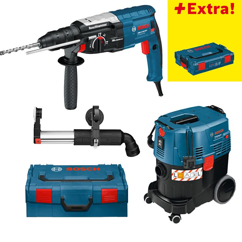 bosch bohrhammer gbh 2 28 dfv l boxx gas 35 l sfc gde 16 plus ebay. Black Bedroom Furniture Sets. Home Design Ideas