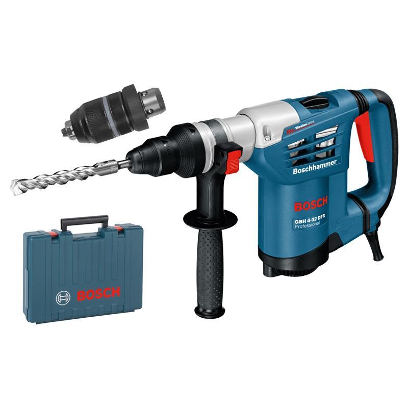 Bosch trapano gbh 4 32 dfr set valigetta schnellsp for Case modello artigiano
