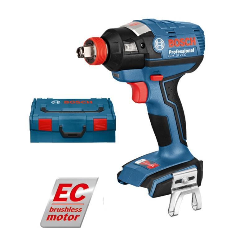 bosch impact wrench gdx 18 v ec solo incl l boxx ebay. Black Bedroom Furniture Sets. Home Design Ideas