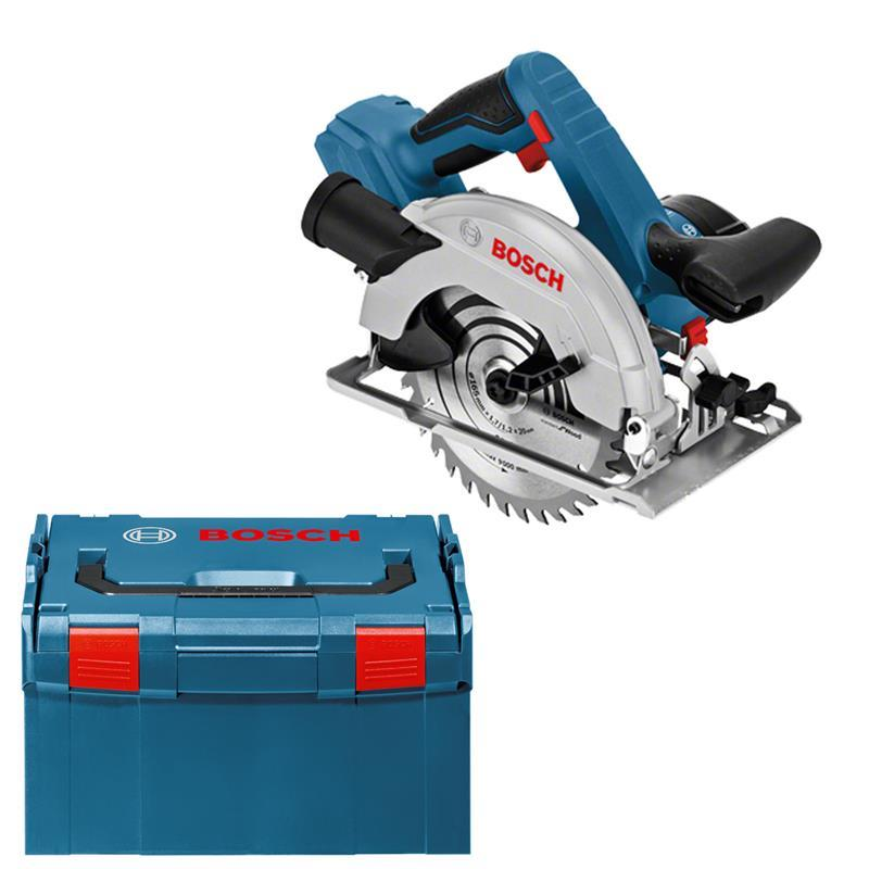 bosch cordless circular saw gks 18 v 57 g professional solo l boxx. Black Bedroom Furniture Sets. Home Design Ideas
