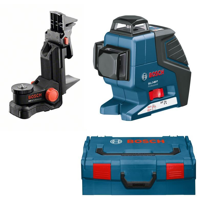 bosch cross line laser gll 3 80 p incl bm1 bag batteries l boxx ebay. Black Bedroom Furniture Sets. Home Design Ideas
