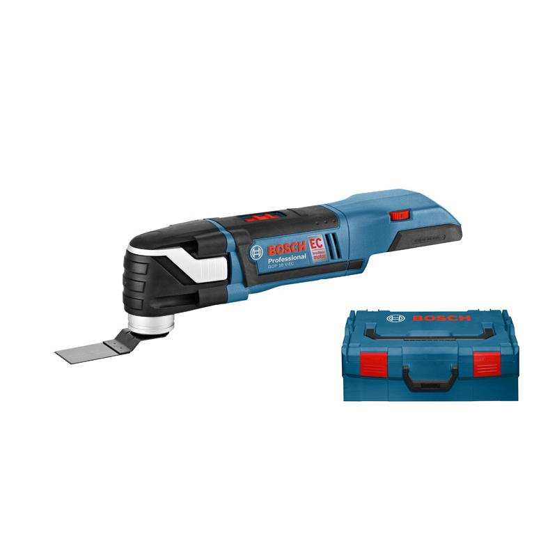 bosch multi cutter battery powered gop 18 v ec solo incl l. Black Bedroom Furniture Sets. Home Design Ideas