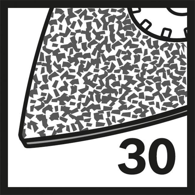 bosch hm riff schleifplatte avz 78 rt2 2608661648 1er ve ebay. Black Bedroom Furniture Sets. Home Design Ideas
