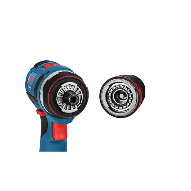 bosch battery drill gsr 18 v ec fc2 flexi click incl 2. Black Bedroom Furniture Sets. Home Design Ideas