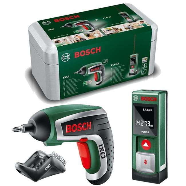 bosch batterie cl chocs set ixo iv plr 15 laser. Black Bedroom Furniture Sets. Home Design Ideas
