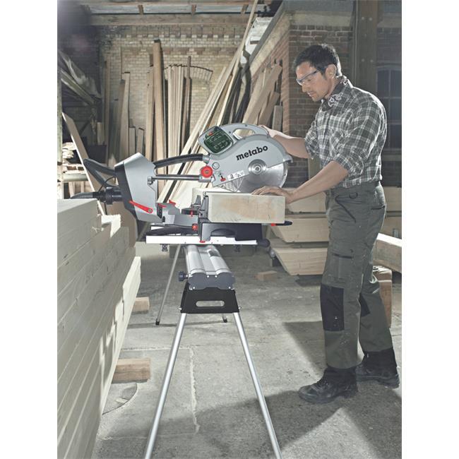 metabo kapp and miter saw kgs 315 plus 2 saw blade ebay. Black Bedroom Furniture Sets. Home Design Ideas