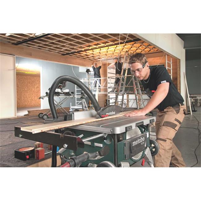 Metabo scie circulaire ts 254 avec ch ssis avec roulettes - Metabo scie circulaire de table ts 254 ...
