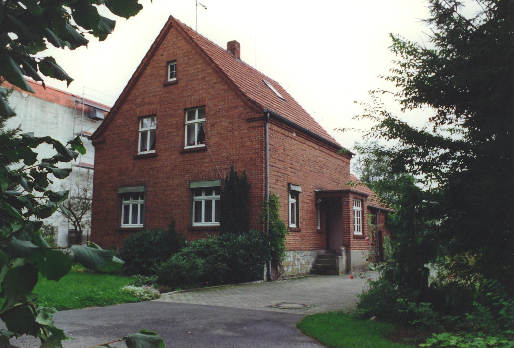 1961 Geburtshaus und erstes Lager