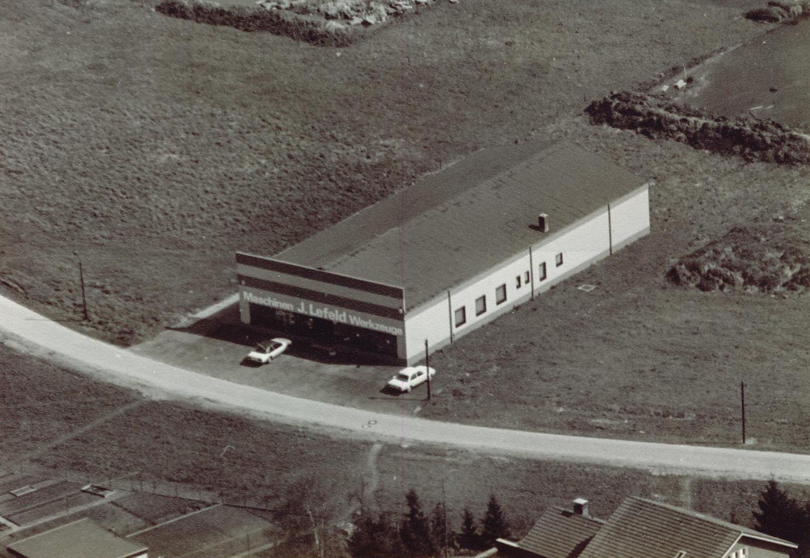 1977 Neubau erste Halle