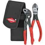 Knipex Mini-Zangenset in Gürteltasche 00 20 72 V02
