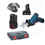 Bosch Akku-Säbelsäge GSA 12 V-15 2x2,5AH/1x4,0AH
