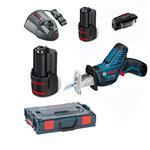 Bosch Akku-Säbelsäge GSA 12 V-15 2x2,5AH/1x2,0AH