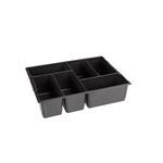 Sortimo Kleinteileeinsatz 6 Mulden 136 für L-Boxx 136 + LS-Boxx