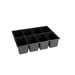 Sortimo Kleinteileeinsatz 8 Mulden 136 für L-Boxx 136 + LS-Boxx