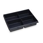 Sortimo Kleinteileeinsatz 4 Mulden 72 für i-Boxx 72