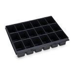 Sortimo Kleinteileeinsatz 18 Mulden 72 für i-Boxx 72