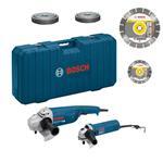 Bosch Winkelschleifer GWS 22-230 JH + 850 C Set 1