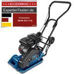 Scheppach Benzin Rüttelplatte HP800S 2,8PS 1,1l inkl. Fahrvorrichtung/Gummimatte