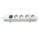 Brennenstuhl Comfort-Line Steckdosenleiste 4-fach  weiß 2m H05VV-F 3G1,5 1153120