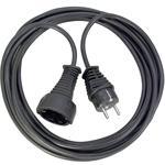 Brennenstuhl Qualitäts-Kunststoff-Verlängerungskabel 5m  schwarz 1165440