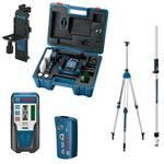 Bosch Grüner Rotationslaser GRL 300 HVG mit LR1G + RC1 + WM4 + BT300HD + GR240