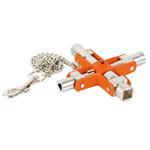 Bahco Universal- Schaltschrankschlüssel MK9