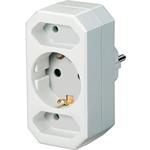 Brennenstuhl Adapterstecker Euro 2 + Schutzkontakt 1 1508050