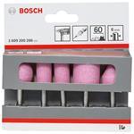 Bosch Korund Schleifstift Satz 5 Tlg. 6mm Schaft