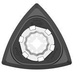 Bosch Starlock-Delta-Schleifplatte AVZ 93 G