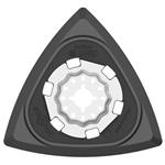 Bosch Starlock-Delta-Schleifplatte AVI 93 G