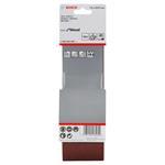 Bosch Schleifbänder für Bandschleifer, Best for Wood, 75X533 mm, K40 3er-Pack