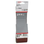 Bosch Schleifband Best for Wood / Paint / X440 75x533mm K100 2608606072 3er-Pack