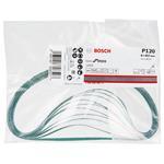 Bosch Schleifbänder J 455 für Elektrofeile GEF 7 E 6,0x457mm K120 10 Stk.