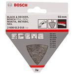 Bosch Polierfilz Hart für Deltaschleifer Dreieckschleifer 93mm 2608613016