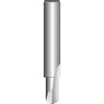 Bosch HM-Hohlkehlfräser 8 mm R13/6mm 2608629368 L 12,7 mm , Expert for Wood
