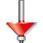 Bosch HM-Fasefräser 8/44mm 2608629379 L = 18,5 mm , Expert for Wood