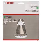 Bosch HM Sägeblatt Optiline Wood 165x30/20 mm Z=48