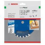 Bosch HM-Sägeblatt 130x2,4x20 Z24 2608644006 Expert for Wood, für Handkreissägen