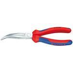 Knipex 2625200 Flachrundzange mit Schneide gewinkelt 26 25 200 mm