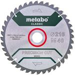 Metabo Kreissägeblatt Precision Cut Classic 216x2,4x30 mit 40 Zähnen