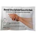 SONAX Hände-Desinfektionstücher, 2 feuchte Tücher