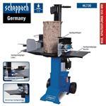 Scheppach Holzspalter HL730, 7t, 230V, stehend, Spaltgutablagen + Spaltgutfänger