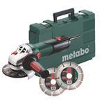 Metabo Winkelschleifer W 9-125 Quick Set